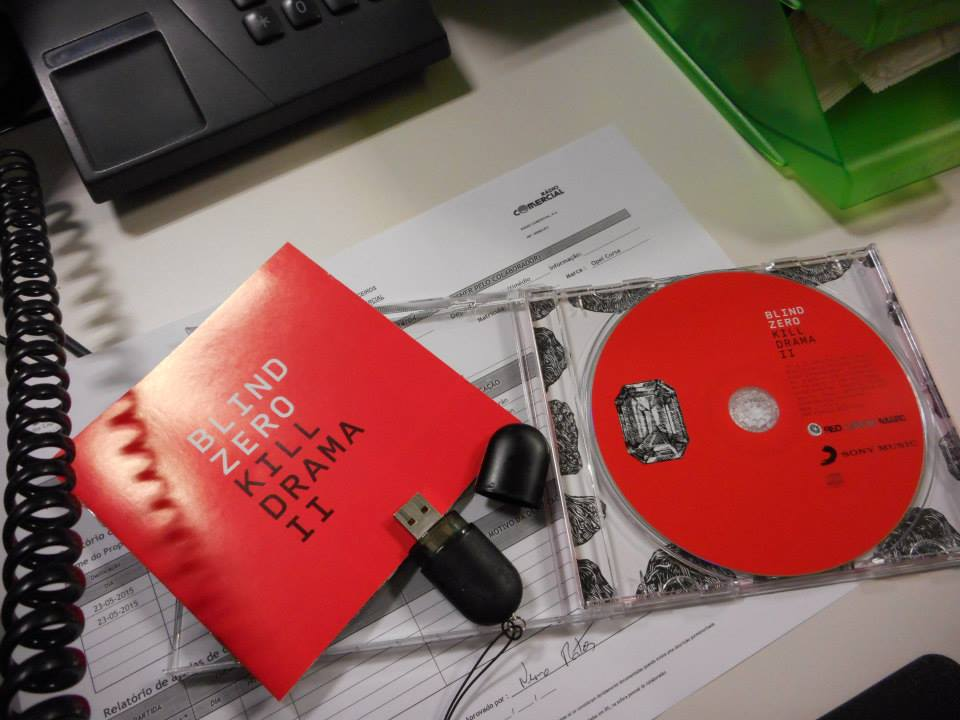 """Kill Drama II"" dos Blind Zero on my desk since July 1st"