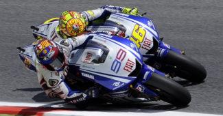 Rossi e Lorenzo - Catalunya 05
