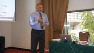 Paul Corney no hotel Tivoli Oriente, em Lisboa, no dia 29 de outubro