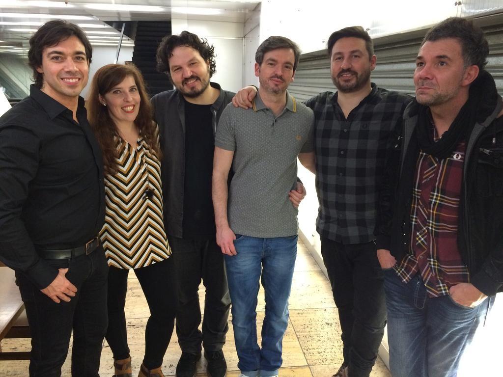 Após o concerto dos Blind Zero na Casa da Música