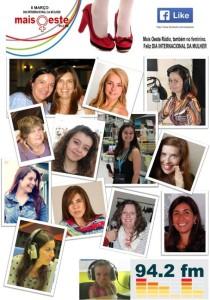 O Jornal das Caldas homenageia as mulheres da Mais Oeste Rádio