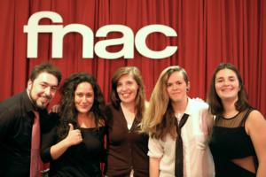 Os Quid na FNAC do Alegro Alfragide com Daniela Azevedo