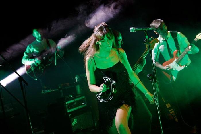 Marta Ren, no festival Sons de Vez, fotografada por Sérgio Neto