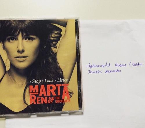 """Marta Ren & The Groovelvets """"Stop Look Listen"""""""