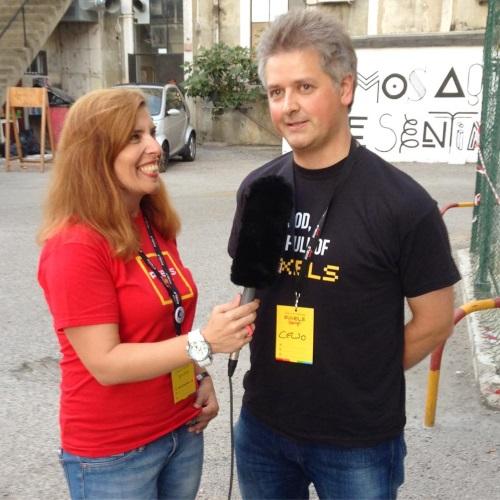 Daniela Azevedo e Celso Martinho no Pixels Camp 2016