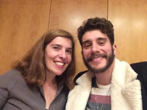 Daniela Azevedo entrevista Ricardo de Sá em dezembro de 2016