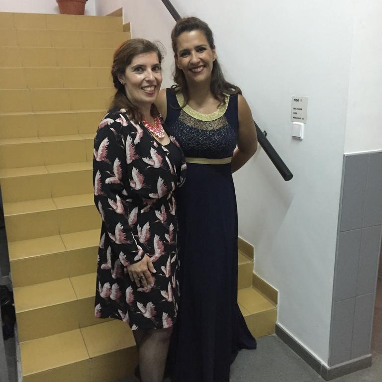 Daniela Azevedo e Mafalda Arnauth nas Festas da Cidade de Alverca