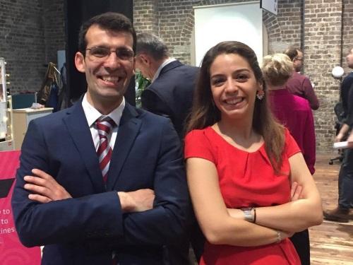 Vanessa Biléu e o marido João - a dupla por detrás da ChildDiary