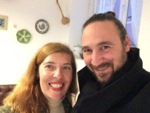 Daniela Azevedo com Pedro Assalino na Fábrica Imperial