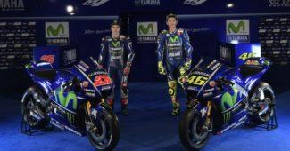 Maverick Vinales, Valentino Rossi e a nova YZR-M1 para o Moto GP 2017