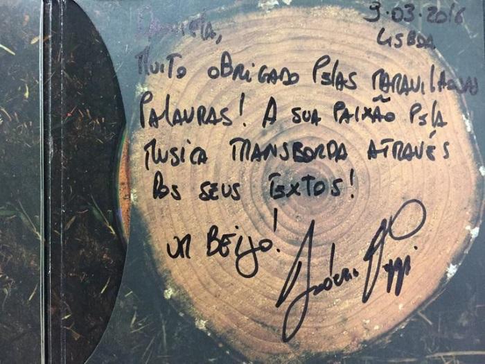 As palavras de Federico Puppi no seu álbum de estreia a solo