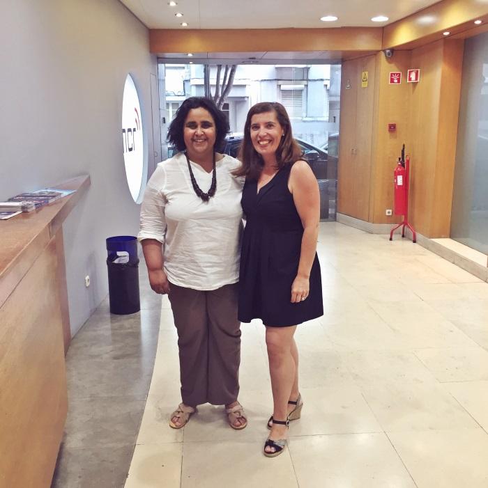 Marta Dias com Daniela Azevedo numa tarde rica de cultura musical