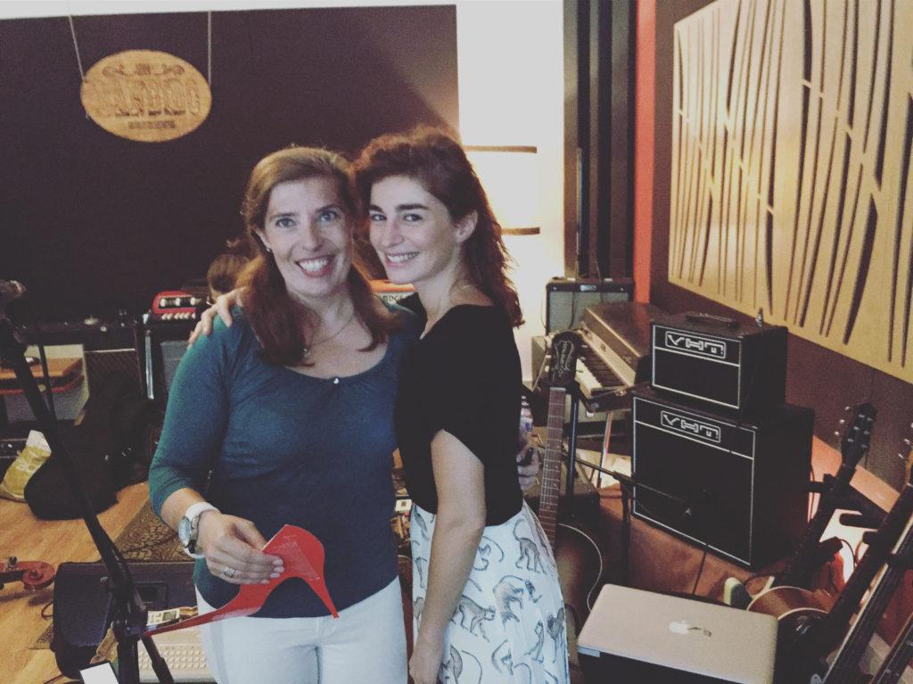 Daniela Azevedo e Rita Redshoes na Bandido Sessions em setembro de 2017