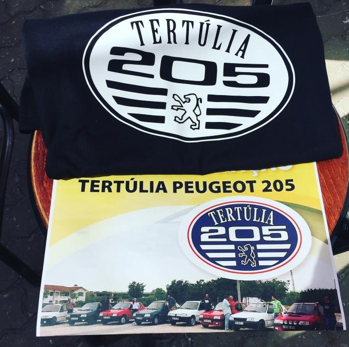 A Tertúlia Peugeot 205 foi outro divertido grupo do qual me tornei membro este ano