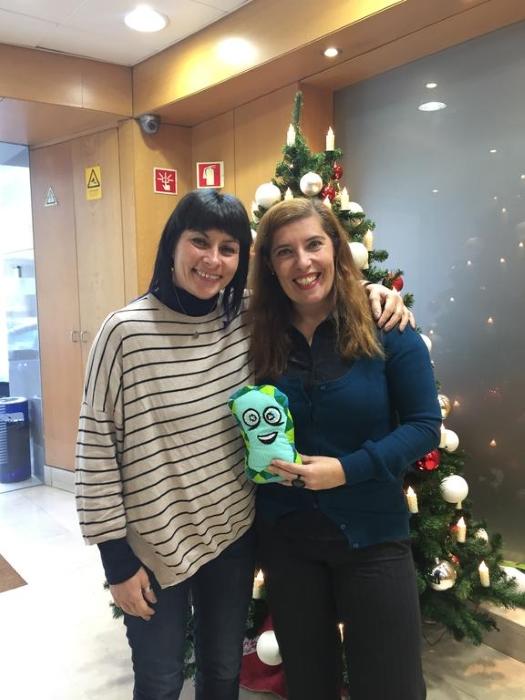 Viviane com Daniela Azevedo no início de 2018 sobre o álbum de tributo a Edith Piaf
