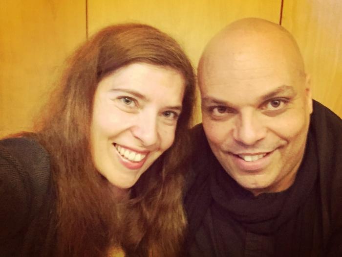 Daniela Azevedo com Yami Aloelela em Lisboa em conversa sobre a canção Eu Amo-te