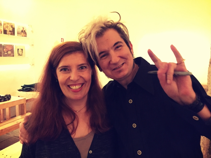 Daniela Azevedo e Paulo Bragança na Associação Fado Casto em Lisboa