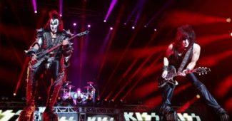 Kiss no Estádio Municipal de Oeiras a 10 de julho de 2018 - Foto - Lusa
