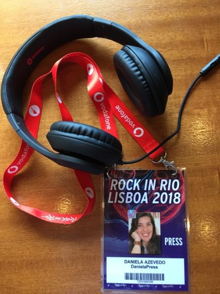 Trabalho DanielaPress no Rock in Rio-Lisboa 2018