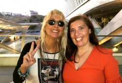 Lilian Knapp e Daniela Azevedo em Lisboa