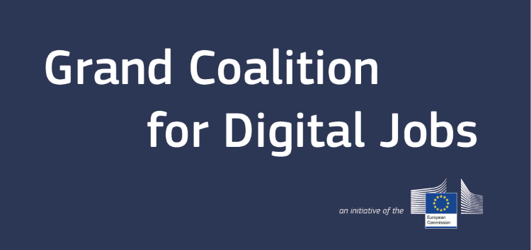 Grand Coalition for Digital Jobs - logo