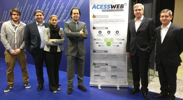 A equipa do AcessWeb 2015