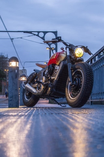 Gold Legend pela Indian Motorcycles do Porto