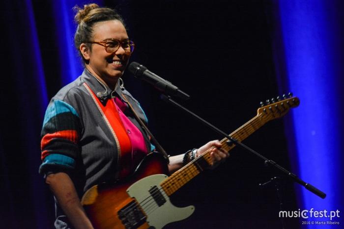 Maria Gadú no CCB, em Lisboa, a 4 de março de 2016, fotografada por Marta Ribeiro