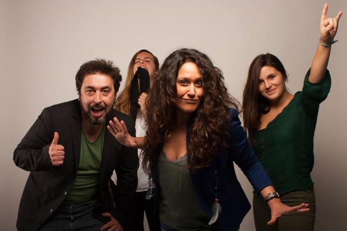 Os Quid são Anabela Tomás, Marília Maia e Moura, Rita Tiago e Luís Santos