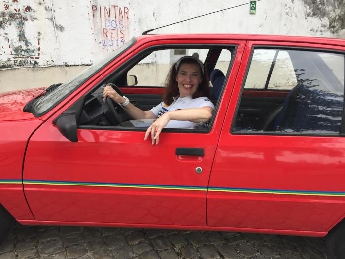 Popó Joli - o carrinho que é um mimo é uma criação de Daniela Azevedo