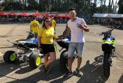 Daniela Azevedo e André Acuko na 20a Concentração do Moto Clube de Mafra