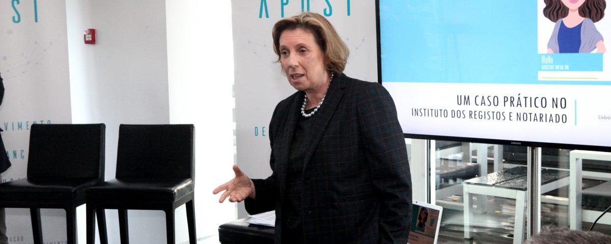 Secretária de Estado da Justiça Anabela Pedroso